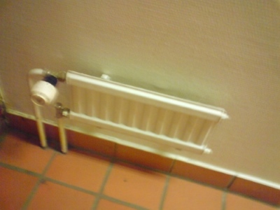 A tiny radiator I found many years ago